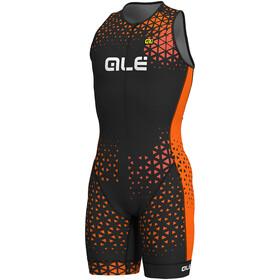 Alé Cycling Rush Tri Mężczyźni pomarańczowy/czarny